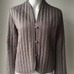 Aritzia talula Bolton jacket quilted size xs taupe